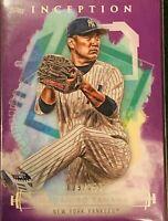 2019 Topps Inception Purple /150 #74 Masahiro Tanaka New York Yankees