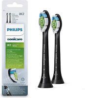 Philips Sonicare Aufsteckbürsten Optimal White, 2er Pack, schwarz HX6062/13