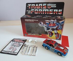 Vintage G1 Transformers Boxed Smokescreen Complete
