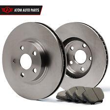 2004 Honda Accord Rear Disc (OE Replacement) Rotors Ceramic Pads R