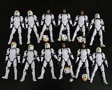 lot of 12 Star Wars Legacy Geonosis Assault Clone Pilot figure w gun