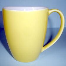 Kate Spade SUMMER CIRCLE Mug Yellow & White by Lenox NEW