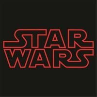 STAR WARS Outline Logo Large Sticker/Decal - Choose Color and Size - Force Jedi