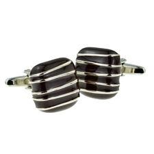 Candy Lovers Square of Chocolate Cufflinks in  Cufflink Box - X2AJ194