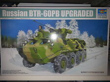 RUSSIAN BTR-60PB UPGRADED TRUMPETER 1/35 PLASTIC KIT