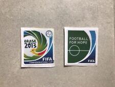 Patch toppa calcio Brasile 2013 Confederation Cup Coppia