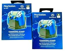 PowerA Charging Stands for PlayStation 4 PS4 Dualshock 4 Controller Set of 2 NEW