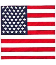 American Flag Bandana Stars and Stripes Neck Tie Headband Hair Accessory Dress