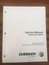 Evinrude E-Tec G2 200-300HP 74° V6 3.4L Service Manual Prelim. Edition #5009420