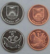 Kiribati 1 + 5 Cents 1979-1992 unz.