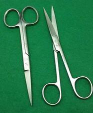 "2 O.R Dressing Operating Scissors Sharp/Sharp 5.5"" Round Pattern Surgical Inst"