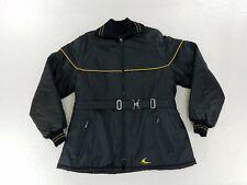 Vintage Ski-Doo Bombardier Sportswear Womens full Zip black Jacket Coat sz 18 XL