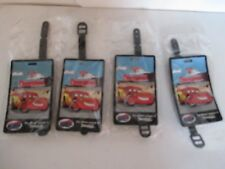 Lot 4 Disneyland Cars Land Luggage Tag American Tourister