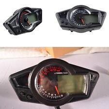 15000 RPM Multi-Function Speedometer LCD Universal Odometer Tachometer Gauge 12V