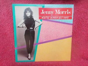 JENNY MORRIS YOUR'E GONNA GET HURT(ORIG WEA No 7.258634) 7 INCH SINGLE