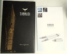 TIBALOI for BENTLEY Fountain Pen Catalog Magazine Book 90th Ann. Hard Covers