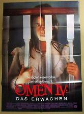 Omen IV Das Erwachen - Faye Grant - Mireille Darc - A1 Filmposter Plakat (x-148