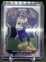 2020 Justin Jefferson Panini Prizm Base Rookie #398 Minnesota Vikings RC PSA 10?