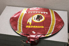 "50x Lot Anagram XL 18"" NFL Washington Redskins Football Foil Mylar Balloons"