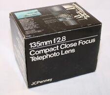 JCPenney Lense 135mm F/2.8 Lens Empty Box with foam (EN) 5111009