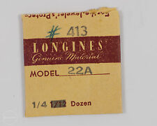 Longines Genuine Material Part #413 Tension Click Spring for 22A