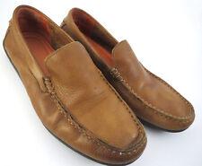 Tommy Bahama Nassau Venetian Men US 10 D Tan Driving Moc Loafer Leather