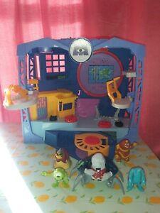 Imaginext Monsters Inc University Figures Scare Factory Playset Disney Pixar