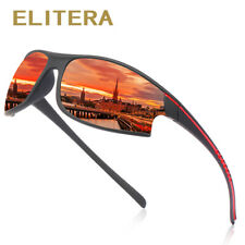 ELITERA Professional Polarized Cycling Glasses Casual Sports Outdoor Sunglasses