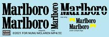 Hobby Robby Sponsor decals for NuNu/Beemax McLaren MP4/2C 1/20 scale