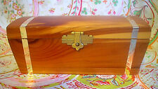 Vintage Small Cedar Box, Made in USA
