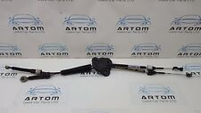 RENAULT GRAND SCENIC MK3 2009-12 6 SPEED GEAR LINKAGE CABLES 8200739758