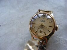 LADIES SMITHS ASTRAL GOLD PLATED WATCH & BRACELET 1960s WITH HIGH GRADE MOVEMENT