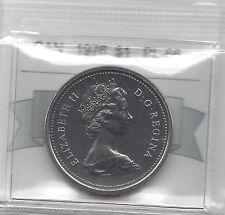 **1976**,Coin Mart Graded Canadian Nickel Dollar **PL-66**