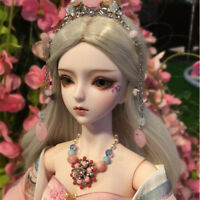 New 1/3 Handmade PVC BJD MSD Lifelike Doll Joint Dolls Baby Gift New Olivia 24""
