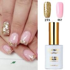 2PCS RS 067_295 Gel Nail Polish UV LED Glitter Varnish Soak Off 15ml New