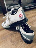 Reebok Mens Crossfit Lifter Plus 2.0 Training Shoes White U-Form CF74 - Size 11