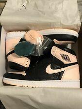 huge discount 17fa5 37dd9 Nike Air Jordan Retro I 1 HIGH OG Crimson Tint Black Pink 555088-081 Size