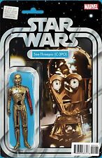 Star Wars C-3PO Special # 1 Action Figure Variant Cover NM