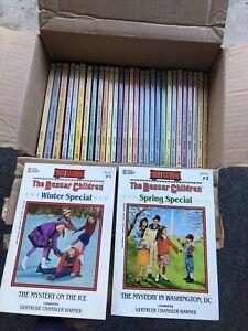 Vtg Lot 31 The Boxcar Children Gertrude Chandler Warner #1-20, 32+, Spcl #1,2