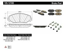 Disc Brake Pad Set-GAS Front Centric 105.12100