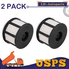 2 Pack (2x) For Ford F250 F350 F450 F550 Super 7.3L V8 Turbo Diesel Fuel Filter