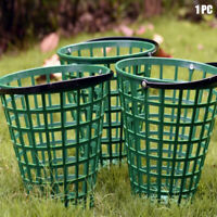 1Pc Golf Ball Basket Carrying With Handle Nylon Home Storage Container New
