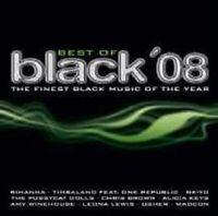 BEST OF BLACK 2008 2 CD RIHANNA  ALICIA KEYS UVM NEW