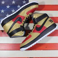 Nike Air Force 1 High ID San Francisco 49ers Red/Gold/Black [808785-981] Men's 9