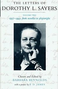 The Letters of Dorothy L.Sayers: 1937-1943 v.2... by Sayers, Dorothy L. Hardback