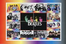 Chad 2018 MNH The Beatles John Lennon Paul McCartney 12v M/S Music Stamps