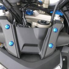 Pro-Bolt Alu Top Yoke Nut Flanged M22 x1.0 Blue Yam MT-125 14+ LTYOKEO50B