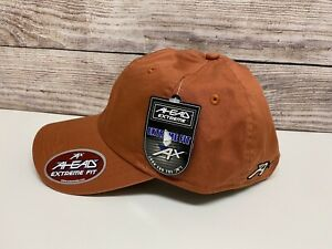 AHEAD HAT EXTREME FIT RUST ADJUSTABLE HAT W/TAG