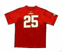 KANSAS CITY CHIEFS JAMAAL CHARLES #25 NFL Red S/S T-Shirt Big & Tall Sizes