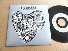 "DISQUE 45T DE THE SILENCERS  "" BULLETPROOF HEART """